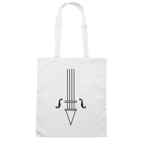 Borsa White Violin Umbrella Academy Book Comic Serie Tv - Bianca - FILM - CUC #chooseurcolor