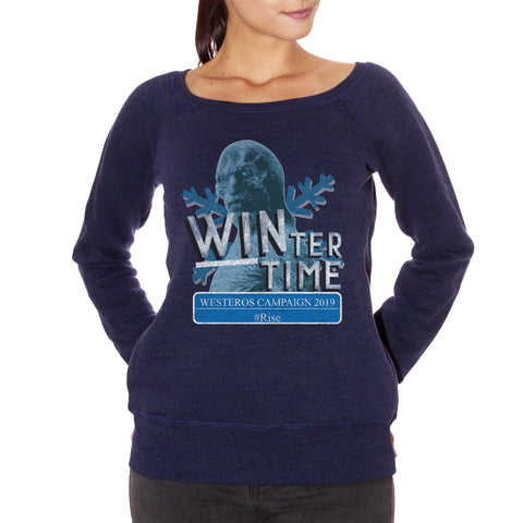 FELPA FASHION DONNA white-walker-winter-westeros-campaign-2019-game-of-thrones - CUC #chooseurcolor