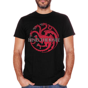 T-Shirt Band The Knee Daenerys Targaryen Game Of Thrones - FILM