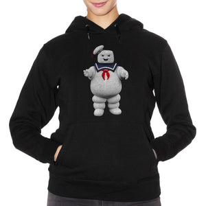 Felpa Cappuccio Stay Puft Ghostbusters Marshmallow Man - Film Cult Anni 80 - Movie Choose ur color