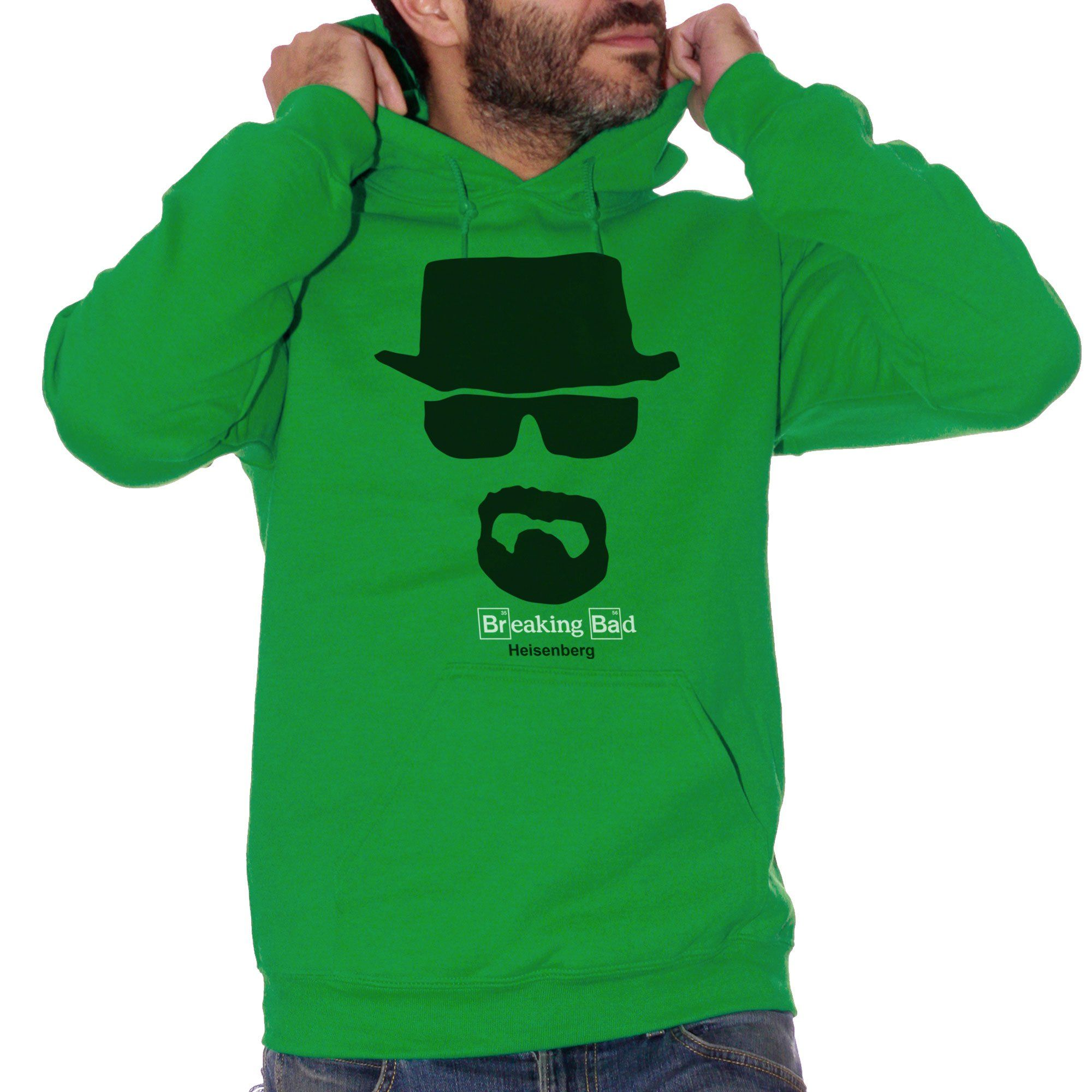 Felpa Heisenberg Breaking Bad - FILM Choose ur color