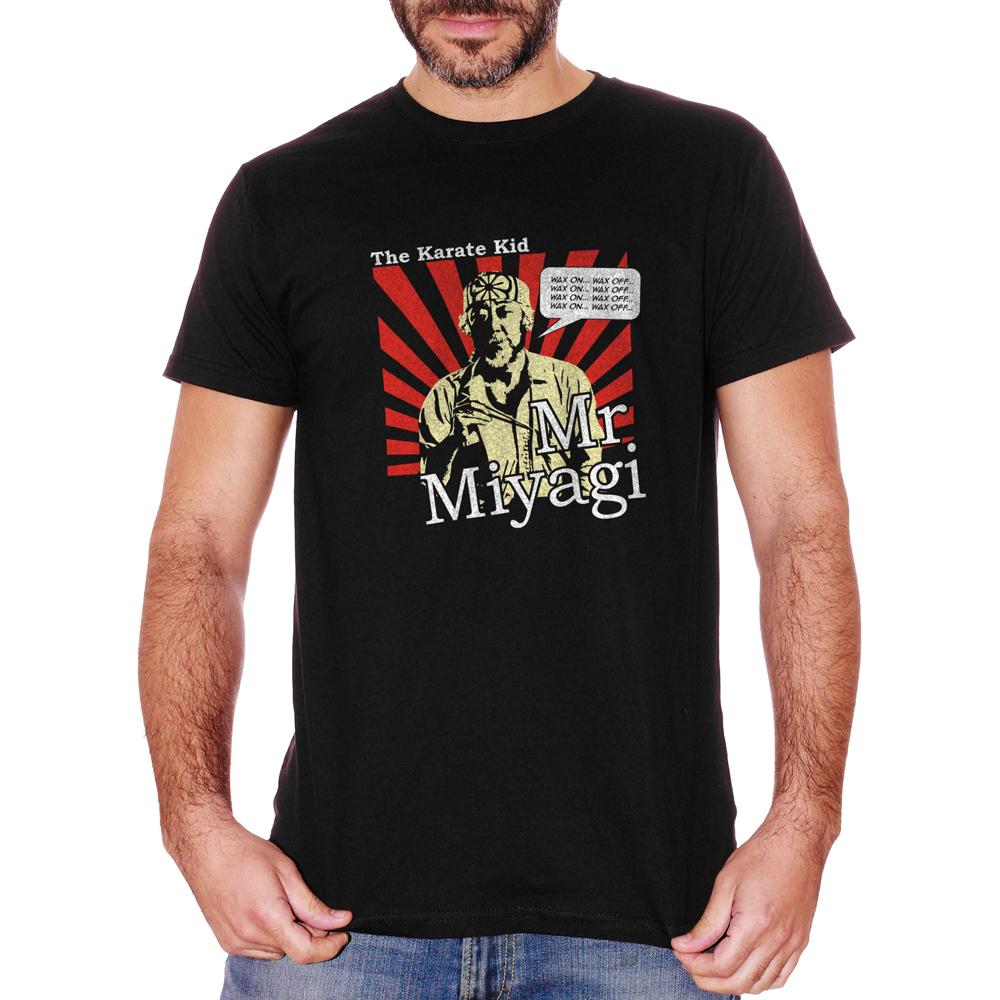 T-Shirt Mr Miyagi The Karate Kid - FILM Choose ur color