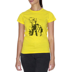 T-Shirt Banksy Israel Wall - POLITICA Choose ur color - CUC #chooseurcolor