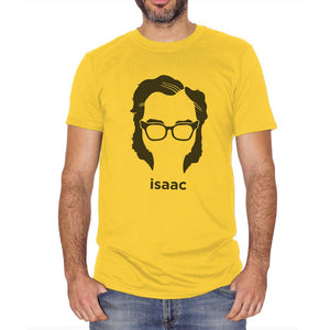 Sandy Brown T-Shirt Isaac Asimov - POLITICA Choose ur color CucShop