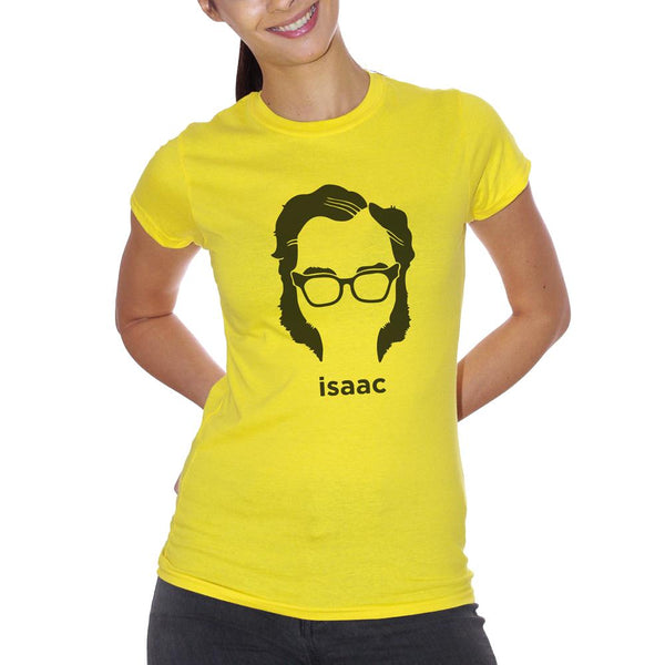 Goldenrod T-Shirt Isaac Asimov - POLITICA Choose ur color CucShop