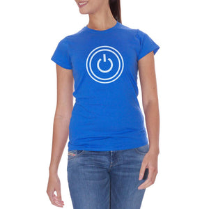 T-Shirt Power Pc Logo - GAMES Choose ur color - CUC #chooseurcolor
