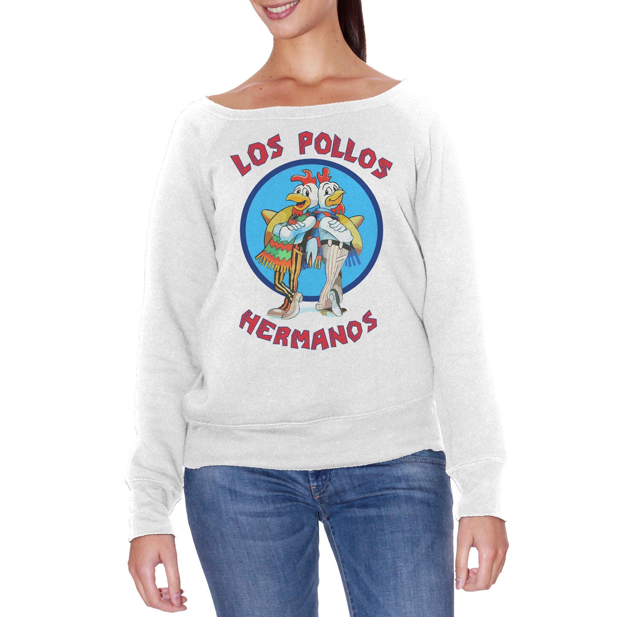 FELPA FASHION DONNA LOS POLLOS HERMANOS BREAKING BAD - CUC #chooseurcolor