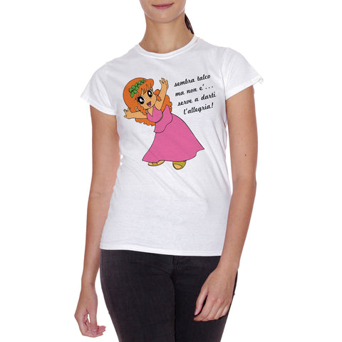 T-Shirt Sembra Talco Ma Non E Pollon - CARTOON Choose ur color