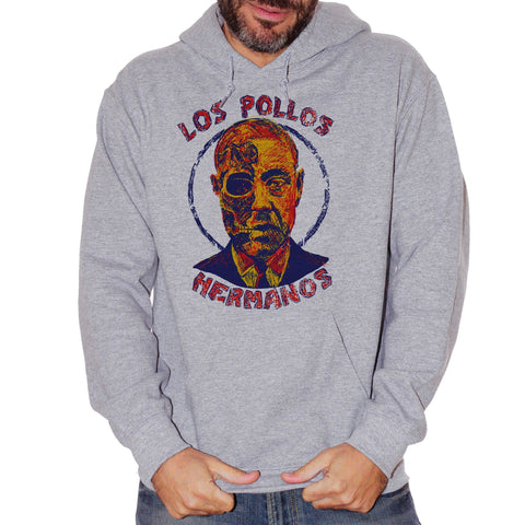 Felpa Los Pollos Hermanos Gusfring Breaking Bad - FILM Choose ur color