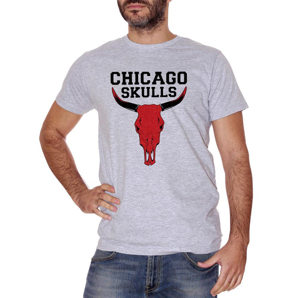 T-Shirt Chicago Skull - DIVERTENTE Choose ur color