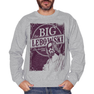 Dark Slate Gray Felpa Girocollo Big Lebowski Coen Bros Choose ur color - FILM CucShop