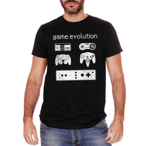 T-Shirt Game Evolution Nintendo - GAMES Choose ur color - CUC #chooseurcolor