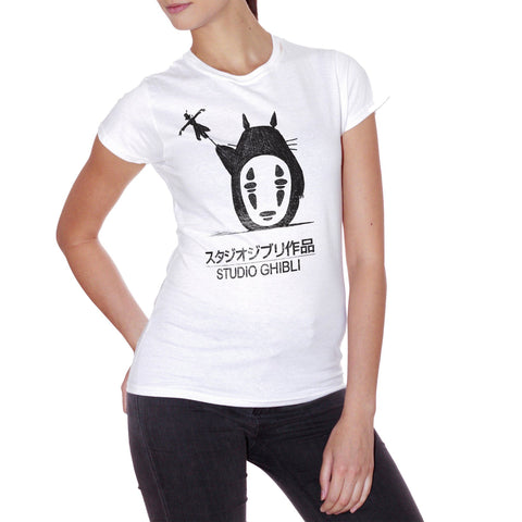 T-Shirt Totoro Studio Ghibli - CARTOON Choose ur color