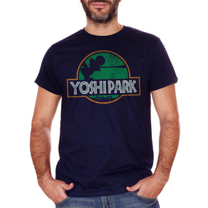 Black T-Shirt Yoshi Jurassic Park - GAMES Choose ur color CucShop