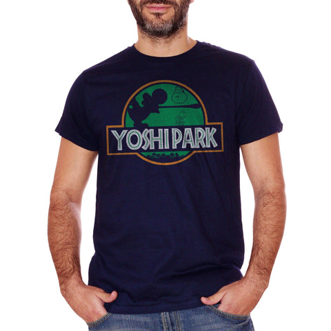 T-Shirt Yoshi Jurassic Park - GAMES Choose ur color
