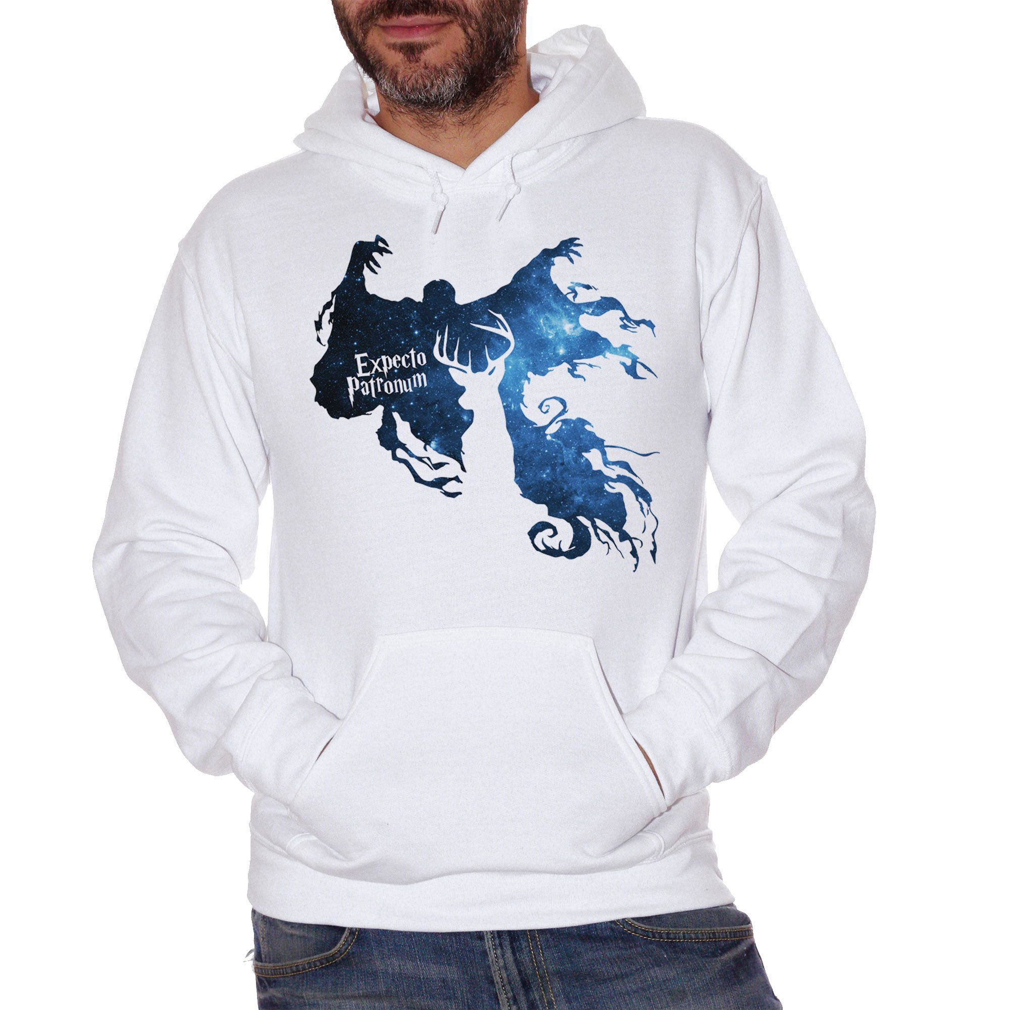 Felpa Expecto Patronum Harry Potter - FILM Choose ur color
