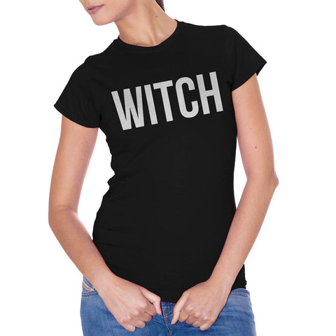 White T-Shirt Witch Strega - POLITICA Choose ur color CucShop