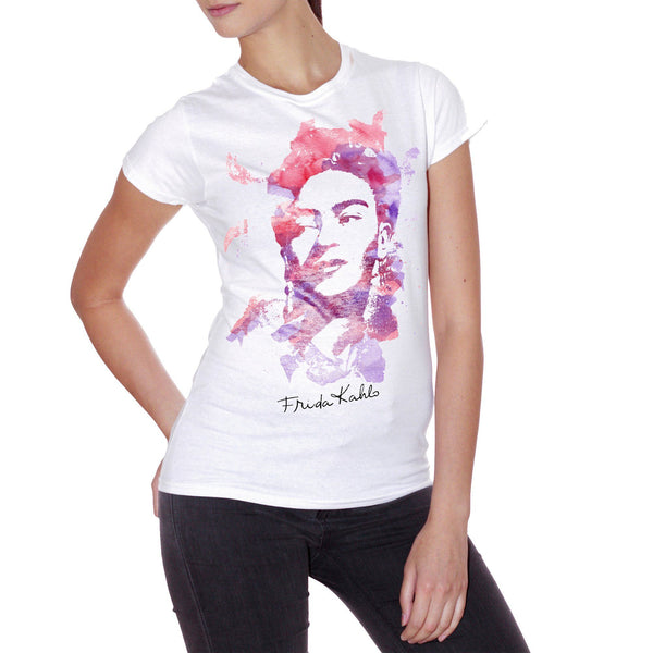 Ghost White T-Shirt Frida - POLITICA Choose ur color CucShop