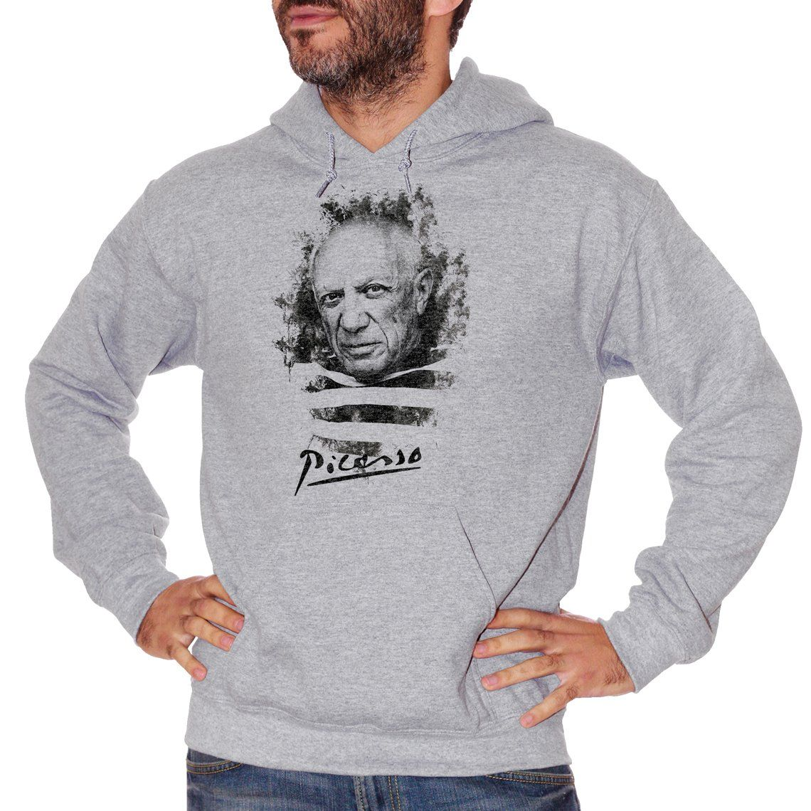 Gray Felpa Picasso - POLITICA Choose ur color CucShop