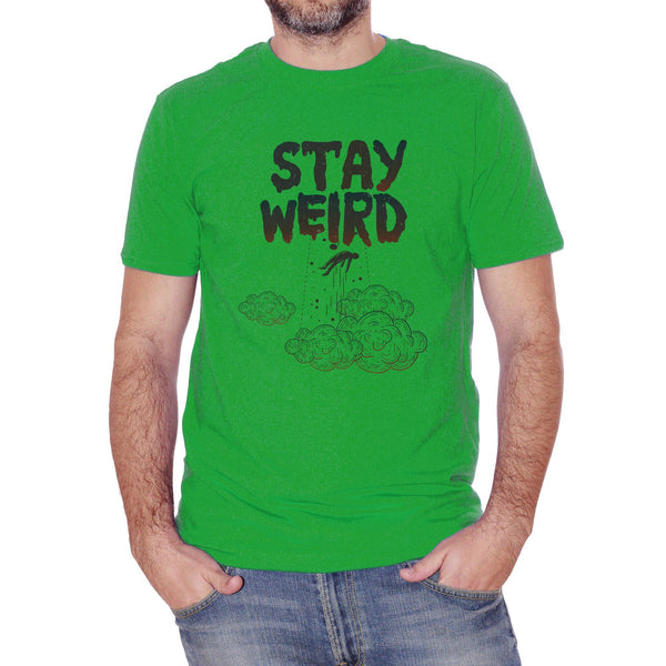 T-Shirt Ufo Stay Weird - SOCIAL Choose ur color