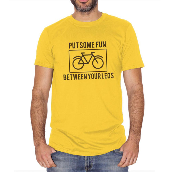 T-Shirt Bike Lovers Put Some Fun Between Your Legs - SOCIAL Choose ur color