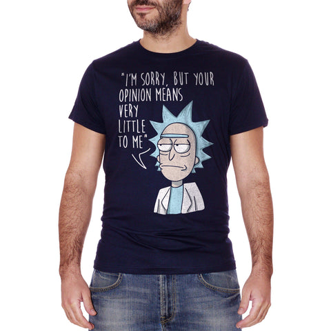 T-Shirt Rick & Morty Non Mi Importa - CARTOON Choose ur color