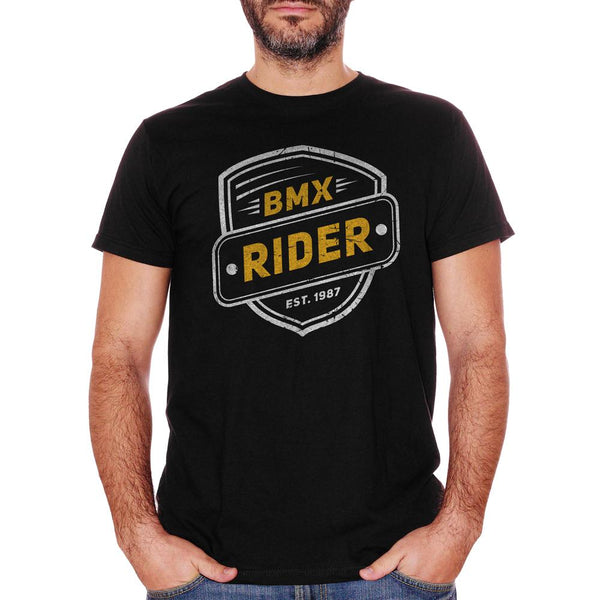 T-Shirt Bmx Rider Bike Lovers - SOCIAL Choose ur color