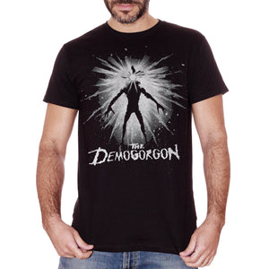 Black T-Shirt Demogorgon In The Space - Stranger Things - FILM Choose ur color CucShop