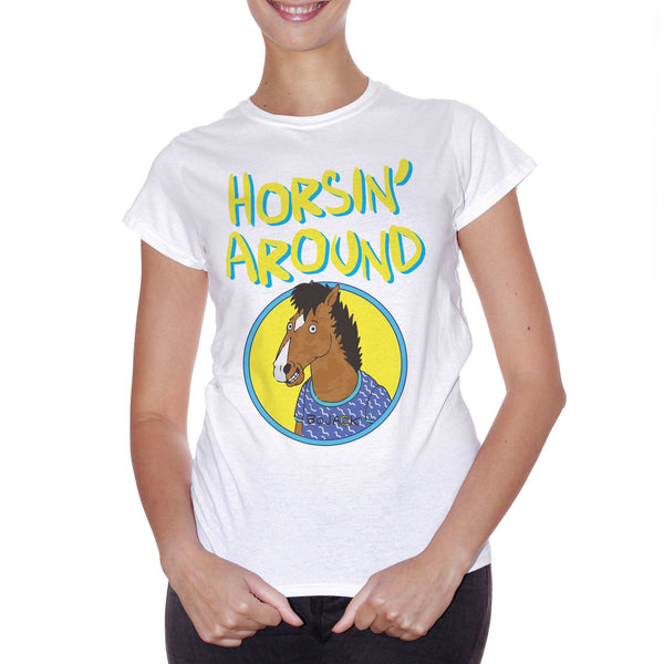 Light Goldenrod T-Shirt Bojack The Horseman  - FILM Choose ur color CucShop