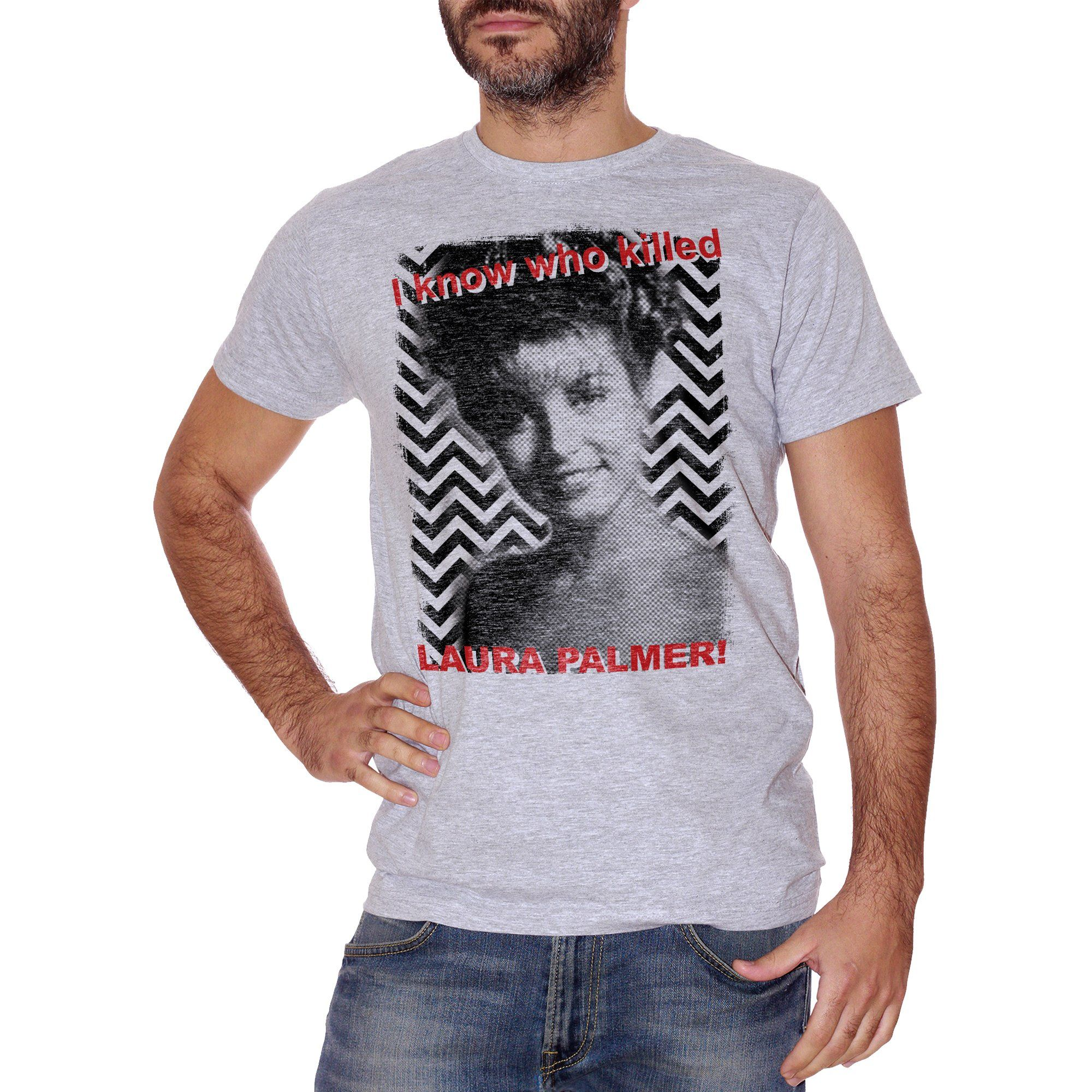 T-Shirt So Chi Ha Ucciso Laura Palmer - Twin Peaks - FILM Choose ur color - CUC #chooseurcolor