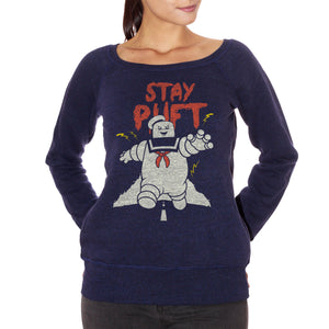 Dark Slate Gray FELPA FASHION DONNA STAY PUFT - MARSHMALLOW MAN GHOSTBUSTERS CucShop