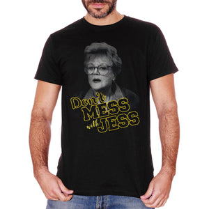 T-Shirt Non Scherzare Con Jessica Fletcher - Signora In Giallo - FILM Choose ur color - CUC #chooseurcolor