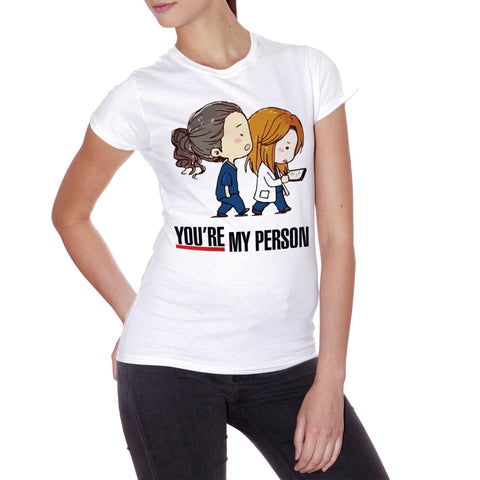 T-Shirt You Are My Person - Grey'S Anatomy - FILM Choose ur color - CUC #chooseurcolor