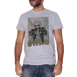 Gray T-Shirt La Tata - Zia Yetta Trash Swag - FILM Choose ur color CucShop