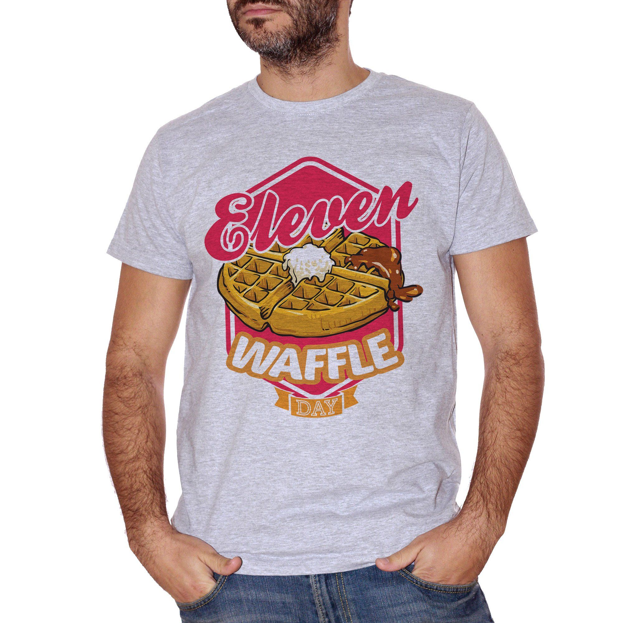 T-Shirt Stranger Things - Eleven Waffle Day - FILM Choose ur color - CUC #chooseurcolor