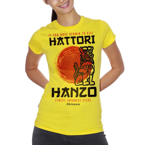 Goldenrod T-Shirt Hattori Hanzo Kill Bill - FILM Choose ur color CucShop
