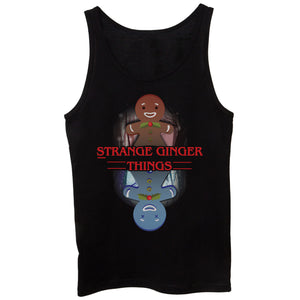 Black Canotta Stranger Things Christmas - FILM Choose ur color CucShop