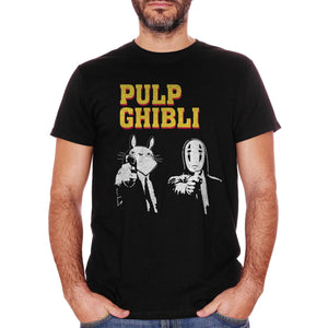 T-Shirt Studio Ghibli Versione Pulp Fiction - FILM Choose ur color - CUC #chooseurcolor