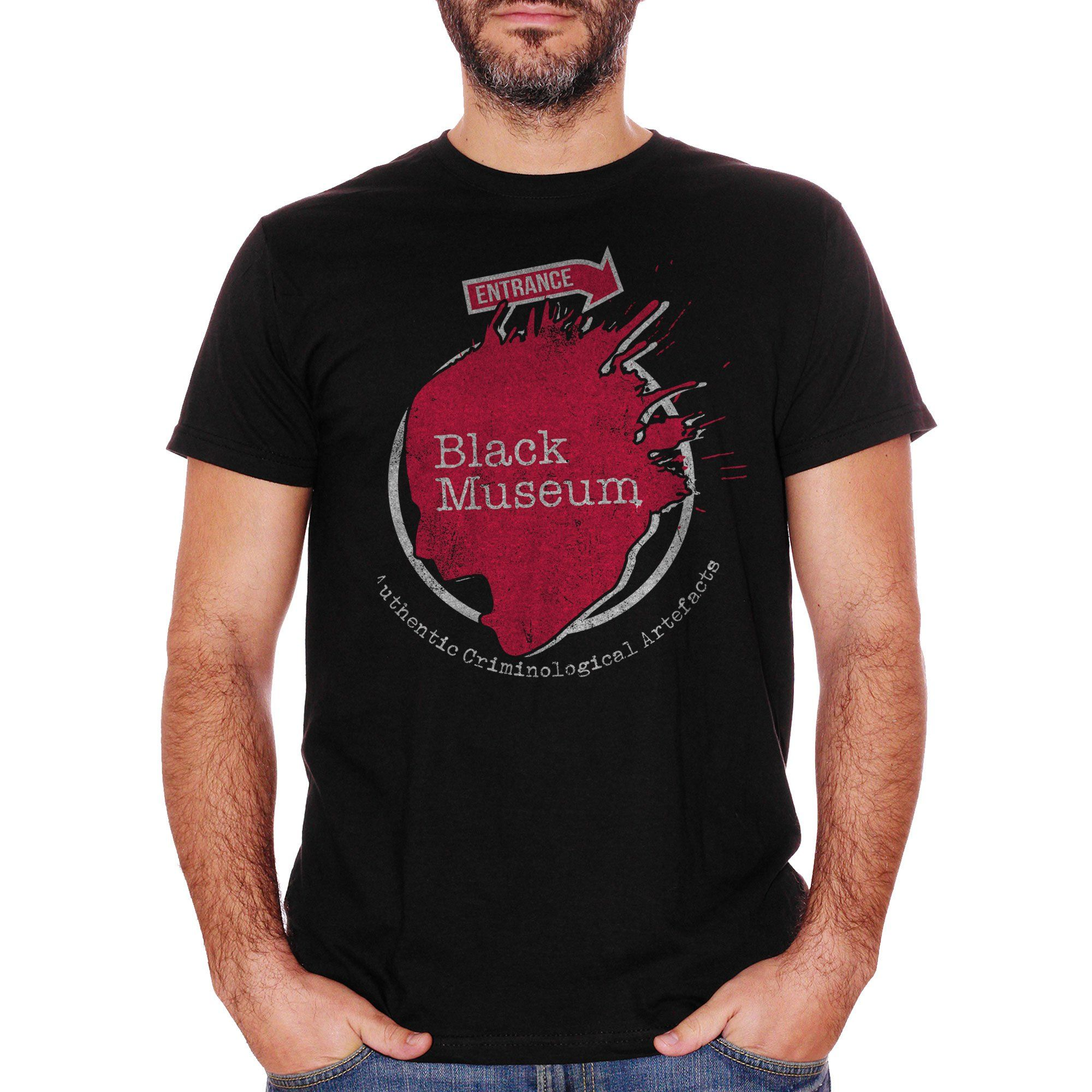 T-Shirt Black Mirror 4 - Black Museum - FILM Choose ur color