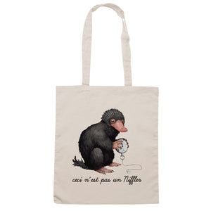 Borsa Animali Fantastici-Niffler Magritte - Sand - FILM Choose ur color