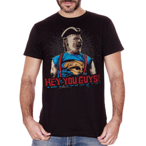 Black T-Shirt Sloth Goonies Hey Yo Guys - FILM Choose ur color CucShop