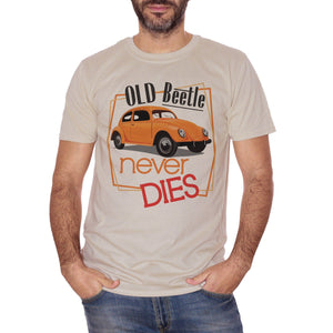 T-Shirt Vintage Maggiolone | Old Beetle Never Dies | I Vecchi Maggiolini Non Muoiono Mai | Old School Choose Ur Color - SOCIAL