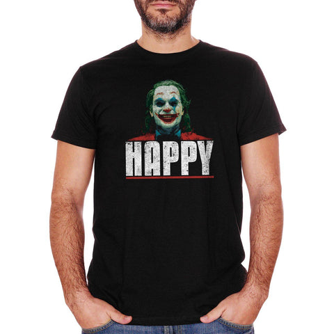 T-Shirt Joker Happy - Maglietta sul film con Joaquin Phoenix - CUC #chooseurcolor