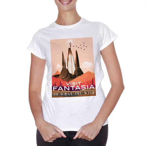 T-Shirt Visit Fantasia La Storia Infinita - Film Choose ur color - CUC #chooseurcolor