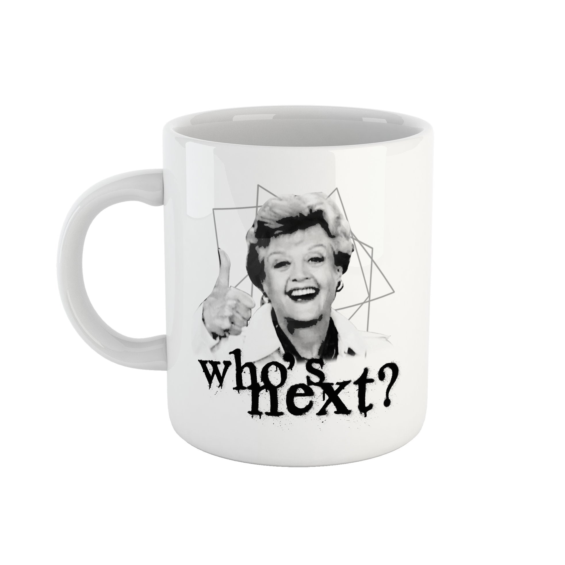 Tazza Who's Next - Mug Jessica Fletcher la Signora in Giallo - CUC #chooseurcolor