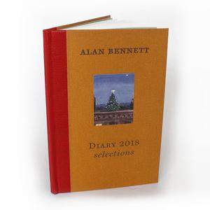 Diary 2018 – Selections by Alan Bennett, Signed & Numbered Limited Edition