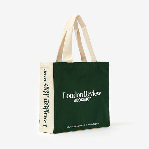 London Review Bookshop Green Canvas Eco Tote Bag
