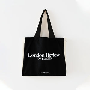 LRB Black Canvas Eco Tote Bag
