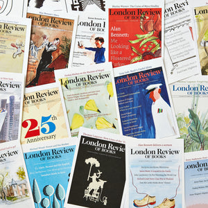 London Review of Books 40 Postcards