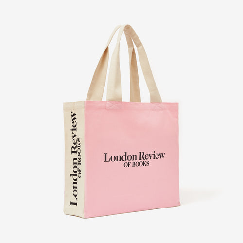 LRB Pink 40th Anniversary Tote Bag
